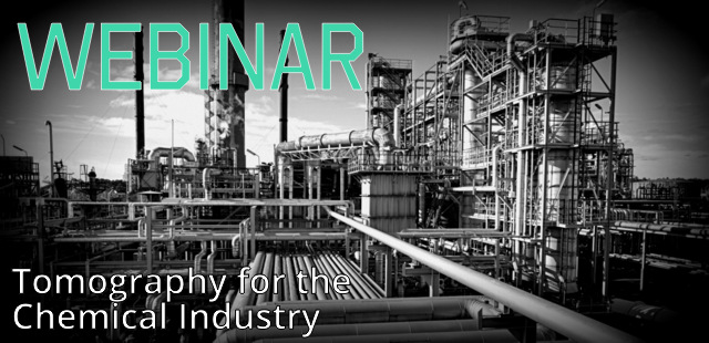 Using tomography in the chemical industry