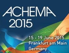 ACHEMA world forum in Frankfurt
