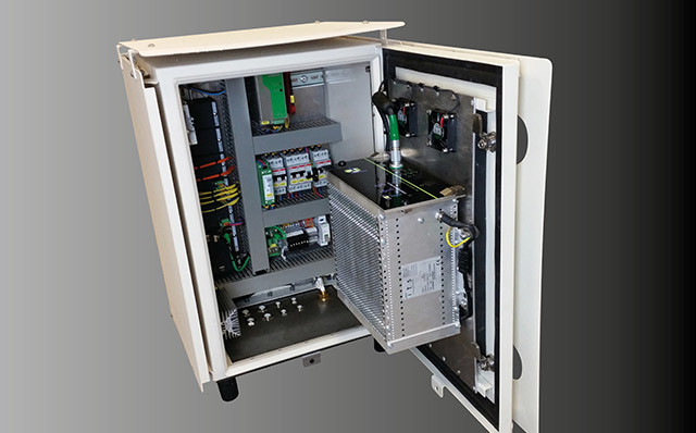 DENS-ITOMETER Component 1: Instrumentation housed in a robust enclosure