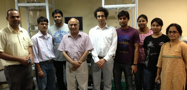 Installing a dual modality tomography system in India