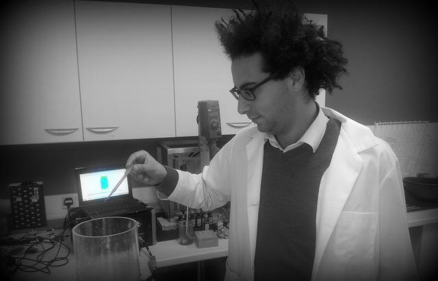 Tomography engineer Wadoud Hazineh